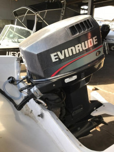 90hp Evinrude motor secondhand