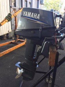 Used 8hp Yamaha 2 stroke