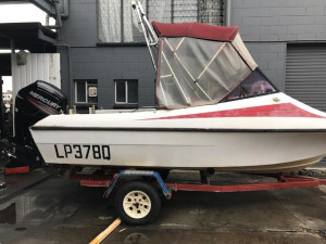Various secondhand outboards