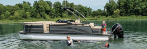 Harris Soltice Series Pontoon Boats