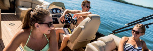Harris Sunliner Series Pontoon Boats
