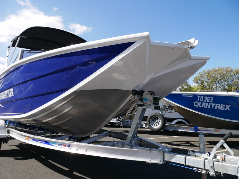Quintrex 550 Freestyler - Bow Rider