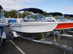 Quintrex 430 Fishabout - $19,990 Super Special
