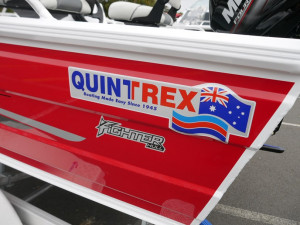 Quintrex 420 Explore Trophy - Side Console