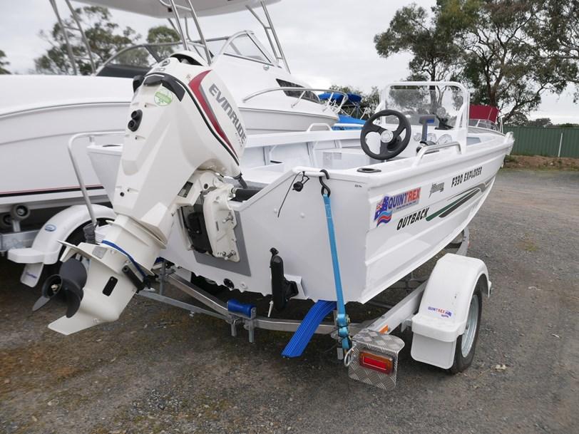 Quintrex F390 Explorer Side Console Jv Marine Melbourne