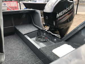 Clark 449 Rebel Side Console with Xi5 MotorGuide