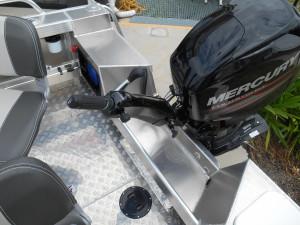 SeaJay 460 Ranger tiller