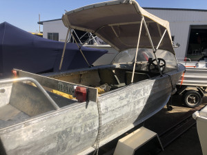 4.1m Runabout on Trailer $490