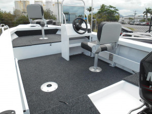 Clark 430 Fishmaster side console