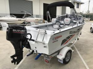 Stacer 449 Sea Master DF60 Suzuki 2020 Model