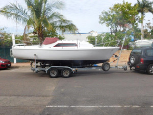 Seal 22 Trailer sailer
