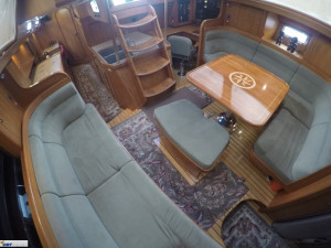 Hylas 54 Raised Salon Centre Cockpit