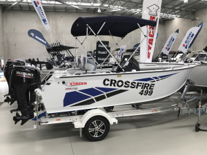 Stacer 499 Crossfire Side Console DF90 Suzuki 2020 Model