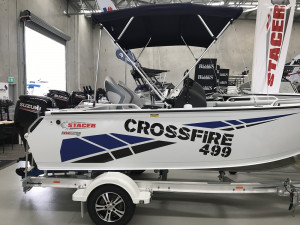 Stacer 499 Crossfire Side Console DF90 Suzuki 2020 Model