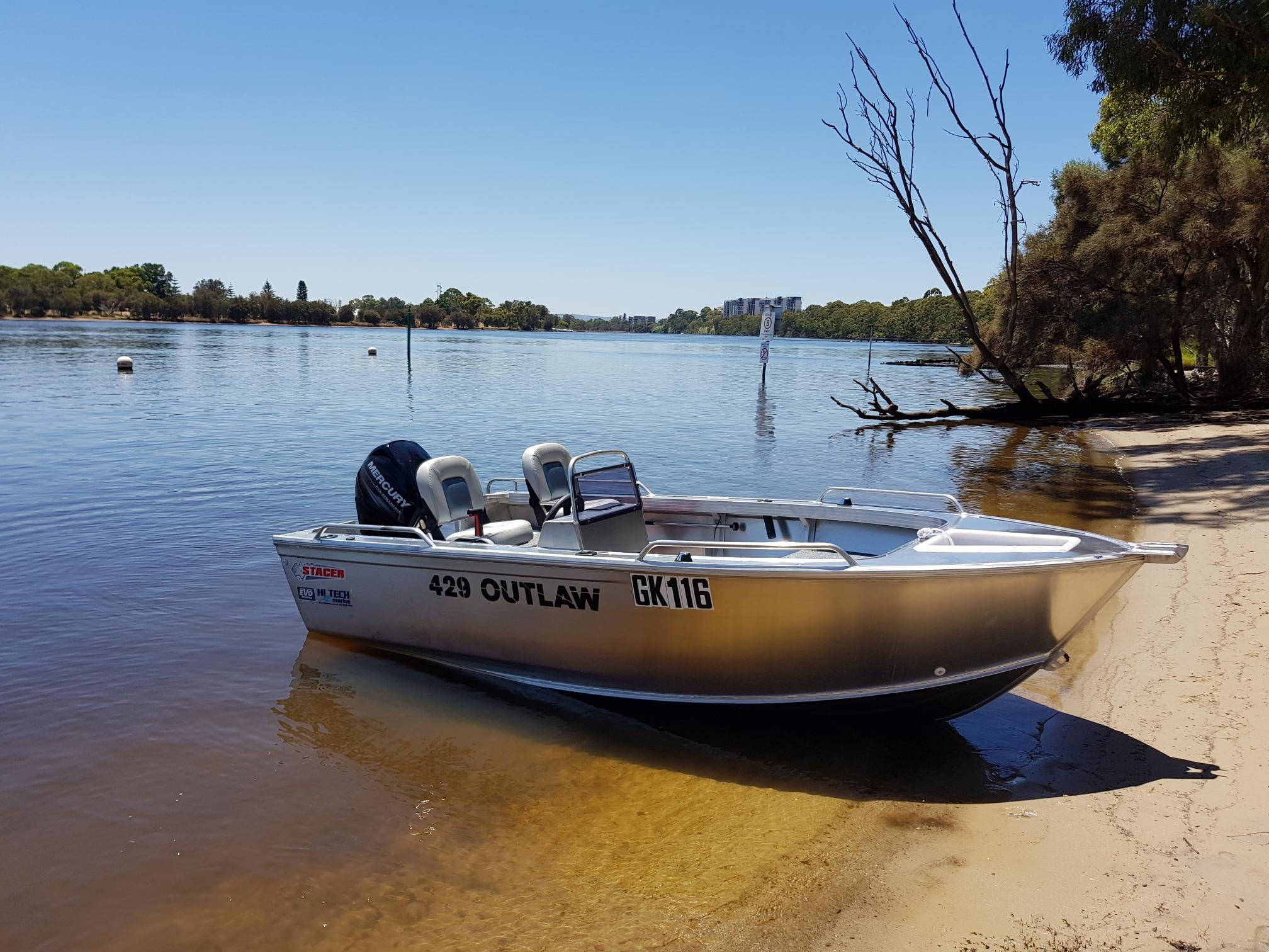 Stacer 429 Outlaw Side Console For Sale Perth Wa Hi Tech