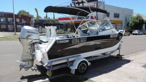Webster twin fisher 490 2010