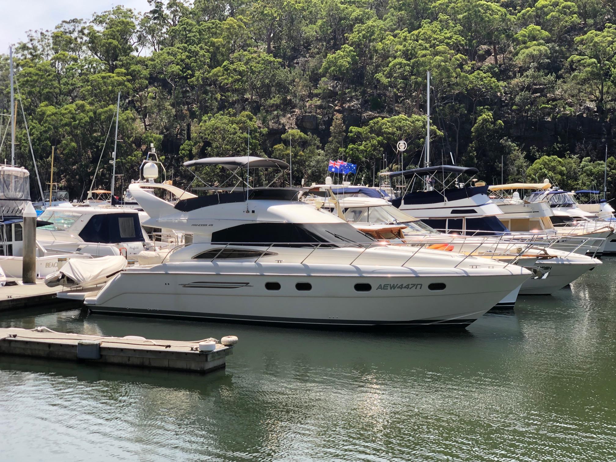 Princess 45 - 5th Share at Empire Marina Bobbin Head