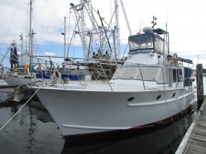 Millkraft Timber Flybridge Cruiser