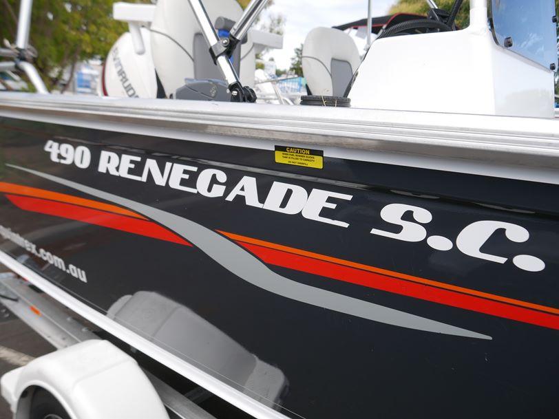 Quintrex 490 Renegade SC - Side Console