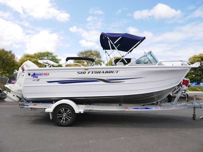 Quintrex 510 Fishabout - Runabout