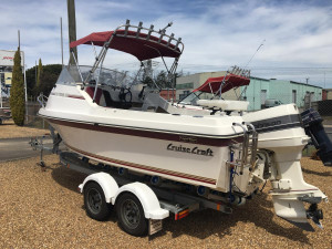 CRUISECRAFT 533 REEF FINDER CUDDY
