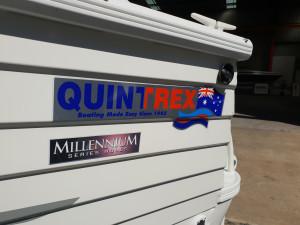 Quintrex 530 Freedom Sport 2004 Aluminum Bow Rider