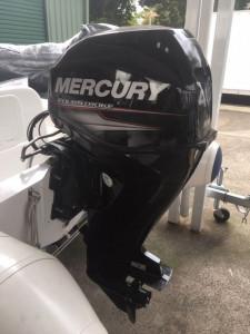New Mercury 420 Ocean Runner fibreglass RIB with side console