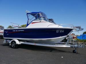 Quintrex 530 Sea Spirit - Cabin Boat