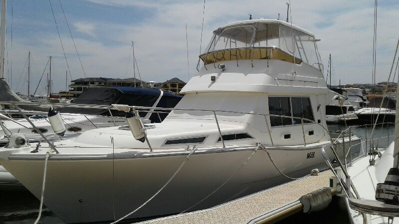 Steber 36ft flybridge cruiser