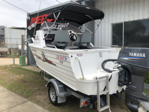 USED 2006 4.8 ALLYCRAFT CHALLENGER HALF CAB WITH 70HP YAMAHA 2-STROKE (78hrs)