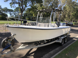 USED 21FT MAKO CENTRE CONSOLE WITH 150HP YAMAHA SALTWATER SERIES
