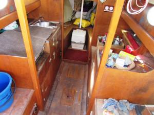 McNab Caravel 28 Staysail Schooner
