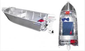 Brand new Horizon 415 Angler aluminium deep V open boat.