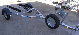 Brand new trailers (3 brands) in stock. Both Sales, Dunbier and Sea Trail boat trailers available.