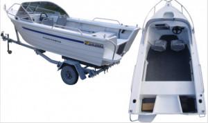 Brand new Horizon 415 EasyFisher Runabout
