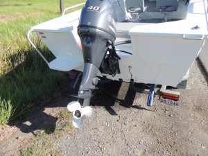 For Sale this Horizon 445 Easy Fisher RA . Powered by the Yamaha F40 Hp 4 Stroke