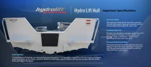 Brand new Horizon 438 Stryker open tiller steer aluminium boat.