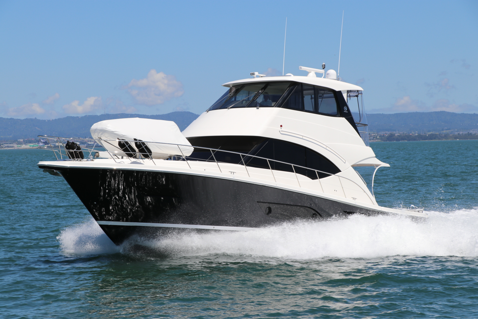 RIVIERA 57 ENCLOSED FLYBRIDGE. 1/4 SHARE AVAILABLE!!