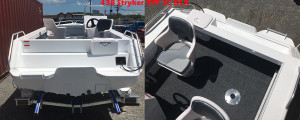 Brand new Horizon 474 Stryker XPF Side console aluminium boat.