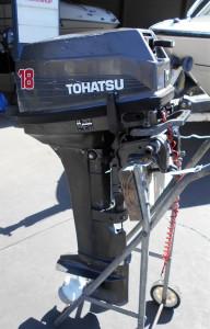 TOHATSU 18HP OUTBOARD