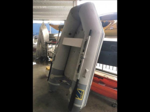 Used Genuine French made Zodiac Cadet 260 AERO inflatable boat with high pressure floor and inflatable keel.