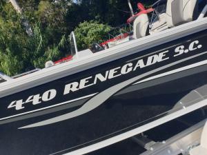 QUINTREX 440 RENEGADE SIDE CONSOLE