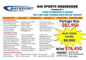 Baysport 640 Weekender
