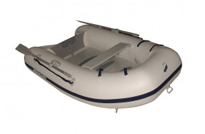 Brand new Mercury 220 Airdeck inflatable boat with welded seams!