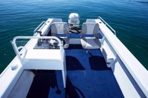 Brand new Savage 435, 455, 485 and 525 Scorpion SC (Side Console) and CC (Centre Console) aluminium boats!