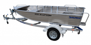 StockingHorizon, Kimple and Savage (By Quintrex/Telwater) aluminium boats - Waves Overseas has a huge range of smaller to medium open tinnies available.