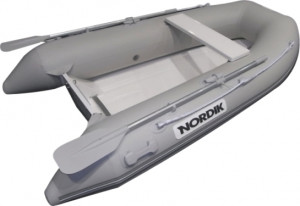 Brand New Nordik 250 fibreglass rigid hull inflatable boat with welded seams reduced from $2499 to only $2199!!!   (Save $300 and receive a free cover worth and padded under seat storage bag)  Nordik inflatable boats offer excellent value for money as they