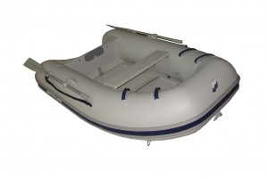Brand new Mercury Sport inflatable boats with sectioned fibreglass floor and inflatable keel.