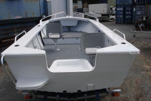 Brand new Horizon 450 Easy Fisher PRO deluxe tiller steer aluminium boat.