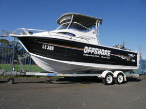 Quintrex 670 Offshore Hard Top - Cabin Boat